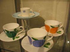 Arabia Marimekko, Finland, Coffee Maker, Cups, Porcelain, Textiles, Culture, Retro, Tableware