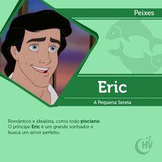 Príncipe de Peixes. #horóscopovirtual #signos #zodíaco #peixes #eric #apequenasereia