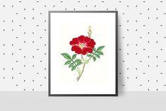 Romantic Artwork, Printable Art, Printables, Artwork For Home, Floral Wall Art, Beautiful Gifts, Vintage Wall Art, Amazing Flowers, Vintage Flowers