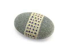 Bejeweled Oracle / Painted Stones by Amy Komar via Etsy