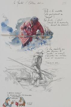 Drawing Journal, Watercolor Sketchbook, Pen And Watercolor, Watercolor Portraits, Watercolor Paintings, Voyage Sketchbook, Travel Sketchbook, Artist Sketchbook, Figure Sketching