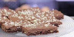 Black Cake > chocolate, walnut and cocoa dough
