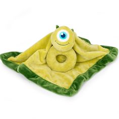 MONSTERS, INC. Mike Security Blanket and Ring Rattle Set