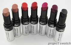 Wet n Wild Fergie Perfect Pout Lipstick- These lippies are awesome! They're pigmented, creamy, long lasting, and so affordable. Def worth trying!