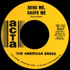 american breed - bend me, shape me /// listen to it on http://radioactive.myl2mr.com /// plattenkreisel - circular record shelf, dj booth, atomic cafe, panatomic, records, rod skunk, vinyl, raregroove, crate digging, crate digger, record collection, record collector, record nerd, record store, turntable, vinyl collector, vinyl collection, vinyl community, vinyl junkie, vinyl addict, vinyl freak, vinyl record, cover art, label scan