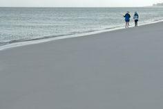 Women fishing in Fraser Island, Australia