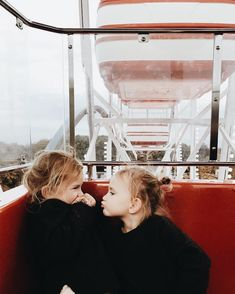 Let Them...go on a ferris wheel and squeal in delight. Evie & Adrienne || Sustainable Baby Clothing and Accessories || Made in America || Be the Good || Fertility Awareness || www.evieandadrienne.com (original post) pinterest || @topazz22 ♡