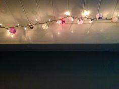 Origami balloon lights