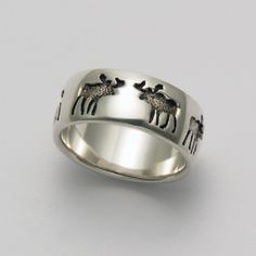 Moose Impression Ring at theBIGzoo.com, a family-owned store. Check our sales & FREE Shipping.