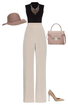 """#619"" by diva-996 on Polyvore featuring Oasis, MaxMara, Accessorize, Sergio Rossi and Alexander McQueen"