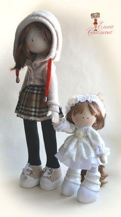 ''Baby Sitter''. (By Elena Sokolkova). Soul of a rag doll.