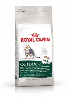 Outdoor 7+ - Für ausgewachsene #Katzen ab 7 Jahern, die überwiegend draußen leben. OUTDOOR 7+ enthält eine Zusammenstellung ausgesuchter #Nährstoffe und essenzieller Fettsäuren, die der #Katze helfen, selbst bei den ersten Anzeichen der #Alterung vital zu bleiben. http://www.royal-canin.de/katze/produkte/im-fachhandel/nahrung-nach-mass/ab-7-jahre/outdoor-7/eigenschaften/