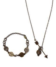 Look what I found on #zulily! East & West DIY Necklace & Bracelet Kit by Vintaj #zulilyfinds