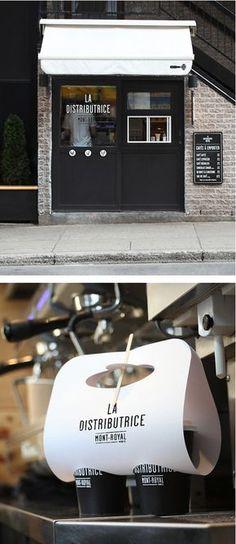 The smallest coffee shop in North America More