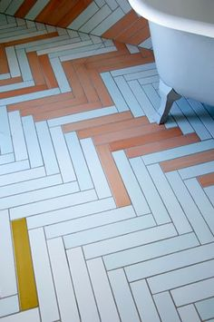 pisos - textures - Mix & Match Chevron Tile by Studio Toogood, UK