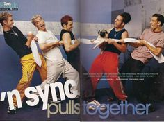 The time NSYNC played tug-a-war and thought it was a good idea to get a pug involved...