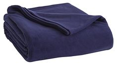 #trendy The #Vellux Fleece Blanket is the perfect layer for your bed. Made from premium microfiber yarn, the lightweight yet warm blanket offers extra softness a...
