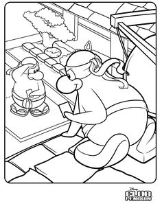 best club penguin coloring pages of puffles httpcoloringpagesgreatscience - Club Penguin Coloring Pages Ninja