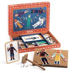 #Toys by #Djeco hamertje tik beroepen: maak al spelenderwijs met deze beroepen hamertje tik de meest grappige combinaties of zoek de juiste afbeeldingen bij elkaar. from www.kidsdinge.com http://instagram.com/kidsdinge https://www.facebook.com/kidsdinge/ #kidsdinge #onlinestore #Kidsroom #babyroom #Toys #Speelgoed #worldwideshipping