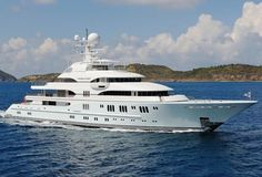 Meet Madsummer, the Megayacht Gwyneth Paltrow Partied On with Miami Billionaire Jeff Soffer/Built by Lurssen Yachts in 2008 for an estimated $270 million, Madsummer features a helicopter pad with refueling station, six ensuite guest cabins, an owner's deck with a six-person jacuzzi, a dive room, a spa with a hammam steam room and massage area, a movie theater, a larger 16-person jacuzzi, and a constant-current swimming pool. The yacht is available for charter for about $1 million per week.
