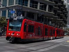 These are 81 feet and are identical to the 3000 series except for the length. These cars are being used to phase out the cars. Rail Train, Light Rail, San Diego, Canada, California, Cars, World, The California, Autos
