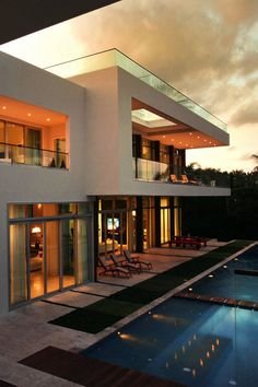 Private Residence In La Gorce | Touzet Studio #pin_it #architeture #arquitetura @mundodascasas www.mundodascasas.com.br