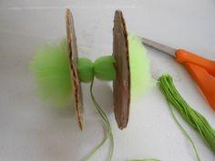 ArtGlitterBlog: Sweet & Sassy Tulle Pom-Poms by Emma McDonald