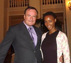 Gerard McKeon, Publisher, Black Tie International Magazine,Yomi Abiola Yomi Abiola