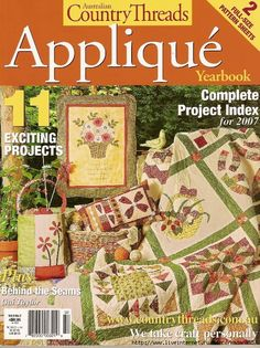AU Country Threads Applique Vol 2 No 8 part 1