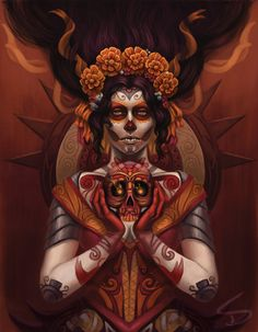 Celebrate Day of the Dead With Some Hauntingly Beautiful Artwork!