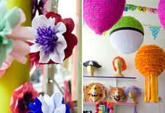 Montage-Pinata-Paris-flowers-balloons MADE BY PRISONERS!!!    BBQ Decorations