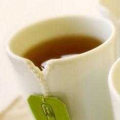 Zipper Cups, holds your tea bag. I need these! And I need some for some friends too!