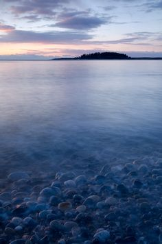 Crescent Beach State Park, Cape Elizabeth, Maine. Visited there often year-round while growing up in the area.  The photographer's blog about this beach is right on-best time to visit is winter.  So peaceful.