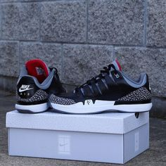 bceb79663a5 Nike Zoom Vapor 9 Tour x Air Jordan 3 'Black Cement' Teaser - WearTesters