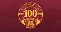 M Club 100 Year Anniversary | Logo Design | The Design Inspiration