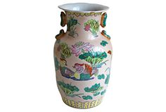 Asian-Style Waterfowl Vase on OneKingsLane.com