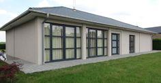 Isolation façades. Isolation de murs par l'extérieur. Polystyrène sous crépi