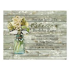 >>>Are you looking for          elegant mason jar floral vintage birthday party custom invite           elegant mason jar floral vintage birthday party custom invite lowest price for you. In addition you can compare price with another store and read helpful reviews. BuyShopping          ele...Cleck Hot Deals >>> http://www.zazzle.com/elegant_mason_jar_floral_vintage_birthday_party_invitation-161470083701074238?rf=238627982471231924&zbar=1&tc=terrest