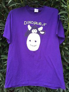 Dinosaur Jr. Cow T Shirt // Large // J Mascis // Guitar Music Shirt // Sub Pop // Grunge // Seattle // Portland