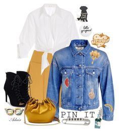 """""""Get Pinned"""" by ahapplet ❤ liked on Polyvore featuring See by Chloé, Johanna Ortiz, JustFab, Acne Studios, Diane Von Furstenberg, Marc Jacobs, Georgia Perry, Jonas & Muse, FOSSIL and white"""