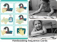 Creative Learning | Fun object lesson about germs and the importance of washing hands, plus FREE handwashing sequencing printable activities.