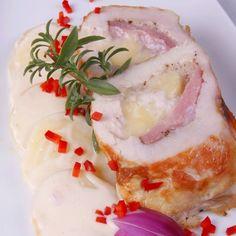 Alufóliában sült töltött csirkemell Recept képpel - Mindmegette.hu - Receptek
