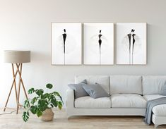 set of 3 artworks minimal black and white Watercolor Paintings Abstract, Original Paintings, Original Art, Ink Painting, Painting Canvas, Abstract Art, Minimalist Painting, White Art, Pattern Art