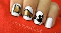 Cutepolish filmstrip nails very cute