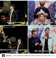 Nooooooooo! Jiminn dont take Namjoon. Take me instead!