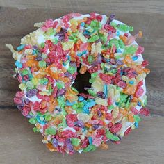 The Perfect Philadelphia Fruity Cereal Bagel for a delicious and colorful morning