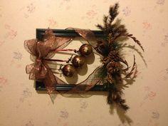 Christmas frame wreath.