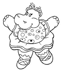 free online the happy hippo colouring page kids activity sheets animal colouring pages
