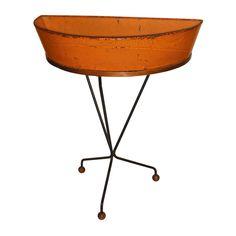 mathieu mategot: #orange metal console #vintage