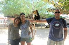 At Turtle Island - with my dearest bro and sist from Turkey